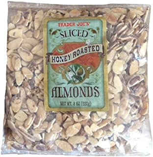 Trader Joe's Honey Roasted Sliced Almonds - 2 Pack by Trader Joe's [Foods]