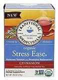 Traditional Medicinals Tea Cinnamon Stress Ease Organic, 16 Count