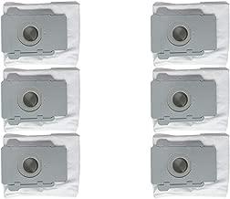 BODOAO Clean Base Side Brush&Hepa Filters& Dirt Disposal Bags for iRobot Roomba i7 i7+/i7 Plus E5 (Gray)