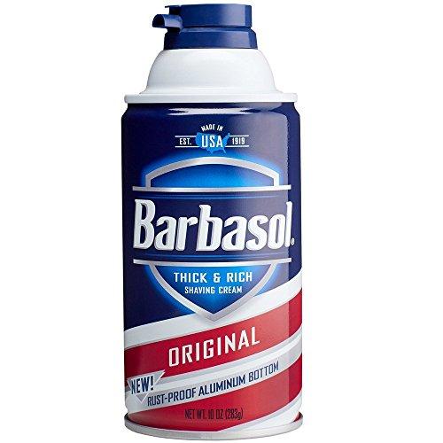 Barbasol Thick and Rich Shaving Cream, Original 10 oz (Pack of 2)