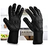 Zappy oven gloves heat resistant as weber bbq accessories for cooking, baking, grilling