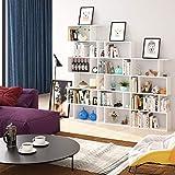 Zoom IMG-1 homfa scaffale libreria mobile soggiorno
