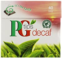 PG Tips - Decaf Pyramid Teabags 40 - 125g