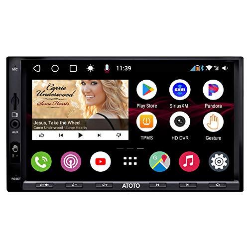 ATOTO S8 Ultra S8G2A78U(A) video in-dash per auto Android con navigazione (senza DVD), 2 Bluetooth con aptX HD, connessione wireless, riconoscimento dei gesti, modem cellulare 4G integrato e altro