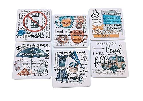 Gilmore Girls Coasters Set