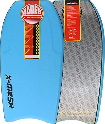 X Mesh Alder 42 Bodyboard - EPS Core, Crescent Tail, 60/40 Rail and...