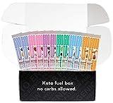 Good to Go Snacks Keto Bar - Soft Baked, Low Carb, Gluten-Free, Vegan, Ketogenic Certified - Variety Gift Box (12 Bars)