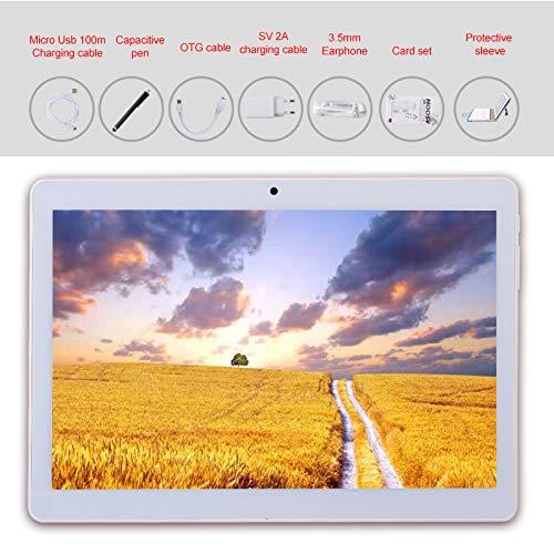 Android 9.0 Tableta de 10 pulgadas con WIFI de cuatro núcleos Navegación Bluetooth 4GB RAM 64GB de memoria Dual SIM 3G también es un teléfono móvil