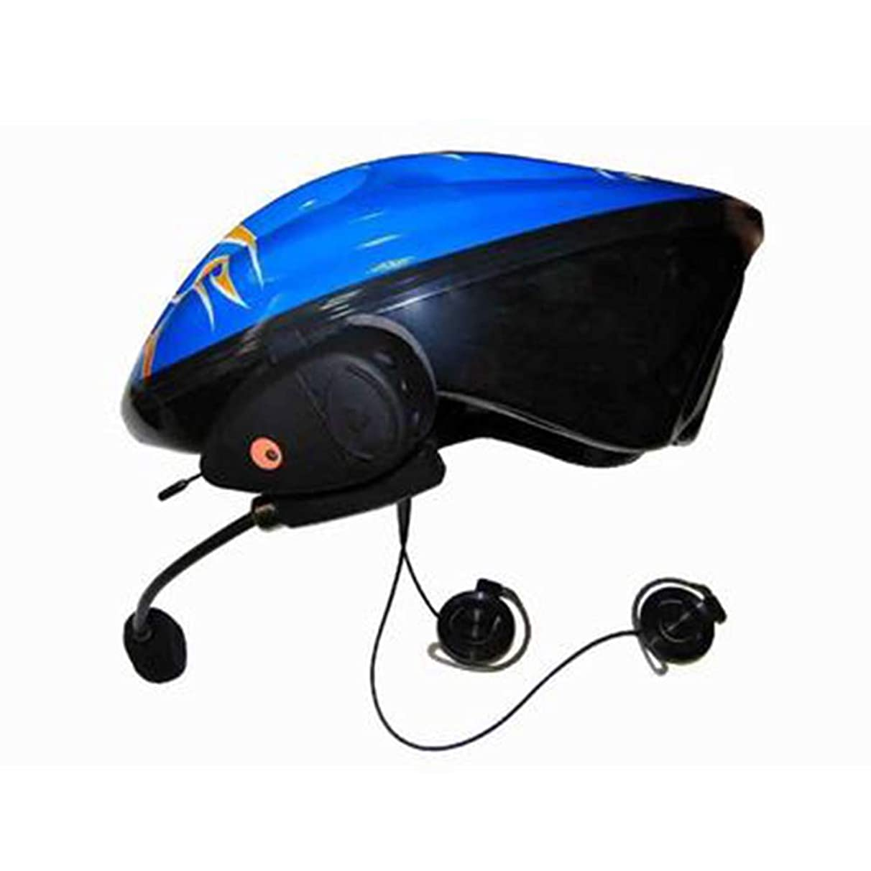補体定数抗議自転車のBluetoothヘッドセット、ハンズフリー自動応答電話防水ノイズリダクションオートバイ用ステレオ音楽ヘルメット通信システム