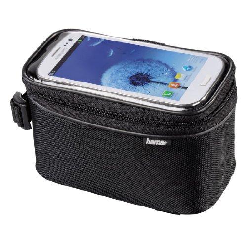 Hama Fahrradtasche für Smartphones, Schwarz