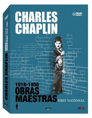 Pack Charles Chaplin: Obras maestras 1918-1956 [DVD]