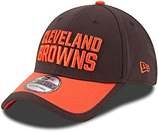 buy online 4adc7 57a31 Youth s Cleveland Browns Brown Orange 2015 On-Field 39THIRTY Flex Hat