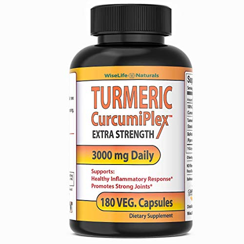 Tumeric Curcumin Supplement: Anti Inflammatory Supplement Support Joint Pain Supplements Colon Cleanse Detox Made With Organic Turmeric Curcumin With Bioperine Tumeric With Black Pepper Capsules 180ct
