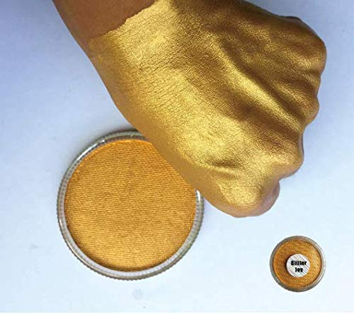 Bodypainting Paint Make Up Malfarbe cuerpo Metallic