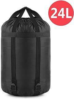 YINXN Compression Stuff Sack, 24L/46L Lightweight Sleeping Bags Storage Stuff Sack Organizer Waterproof Camping Hiking Backpacking Bag for Travel