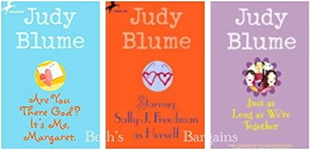 3 Books: Judy Blume Set - Are You There God, It's Me Margaret, Starring Sally j. Freedman as Herself, just as Long as (Jud...