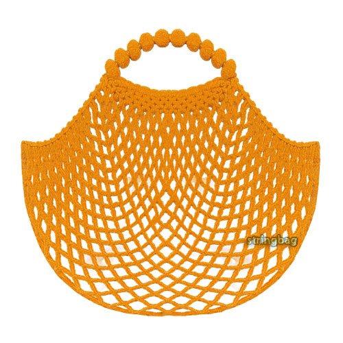 Einkaufsnetz kult orange - SuperNetz - DeDeRon - Made in Germany