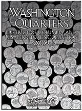 Whitman Coins H.E. Harris Washington Quarters Folder DC and US