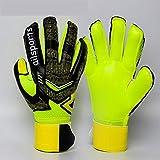gloves Fußball-Trainingshandschuhe/Torwarthandschuhe für Erwachsene/Kinderhandschuhe aus Latex, Größe: 7 Anzahl: 17-18 cm