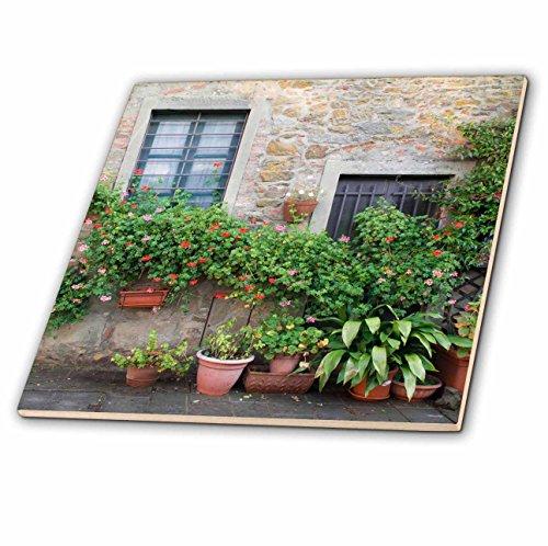 3dRose CT 206626_ 1Europa, Italien, Toskana. Der Stadt Castello di Volpaia. -Ceramic Fliesen, 10,2cm