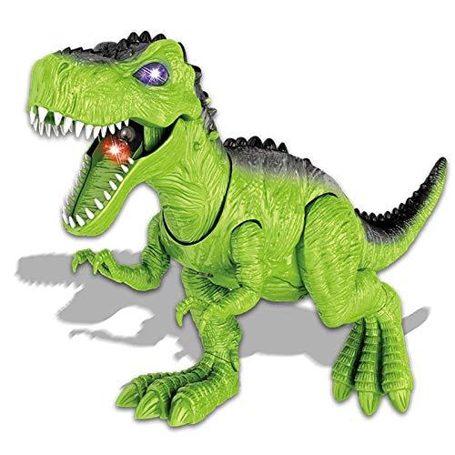 HGFDSA Dinosaurio Robot Juguete para Nios, Jurassic Dinosaurio World, Dinosaurio Juguete Interactivo-Dinosaurio Juguete T-Rex Caminar-pulverizar Regalo Chico Chica