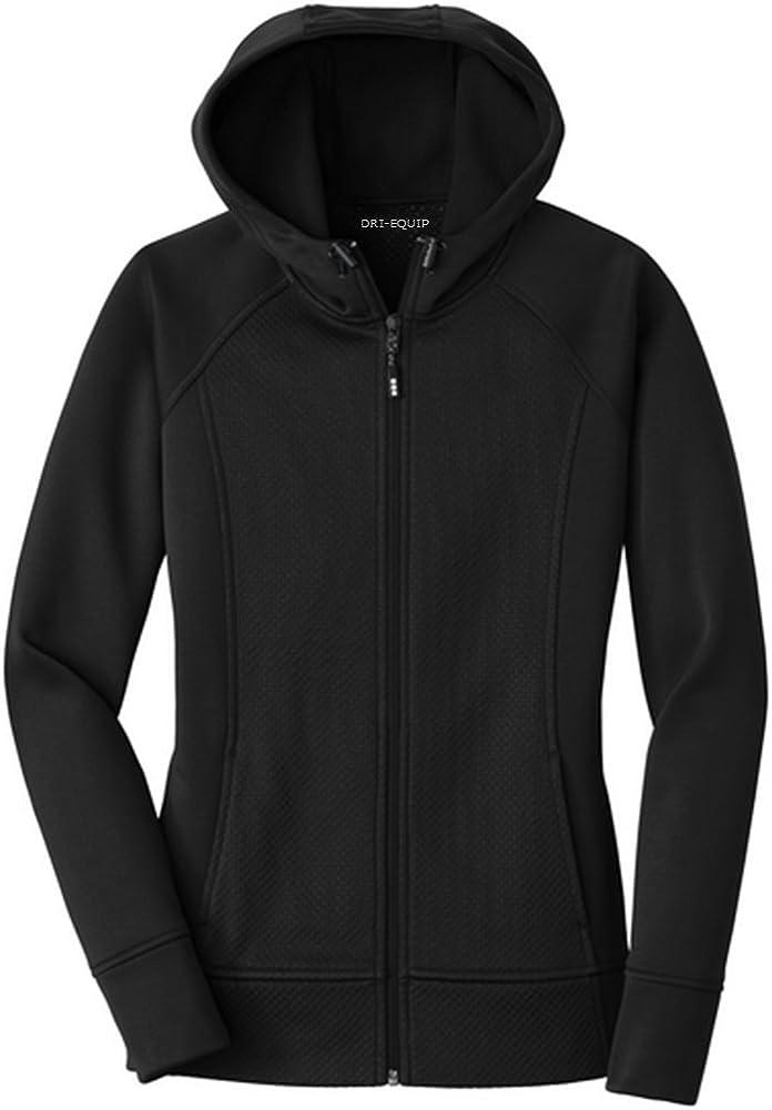 Dri-Equip - Ladies Rival Tech Fleece Full-Zip Hooded Jacket