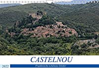 Frankreichs schoenste Doerfer - Castelnou (Wandkalender 2022 DIN A4 quer): Rundgang durch eins der schoensten Doerfer Frankreichs (Monatskalender, 14 Seiten )