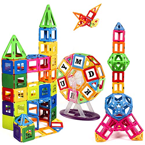 KIDCHEER Magnet Building Tiles, Magnetic...