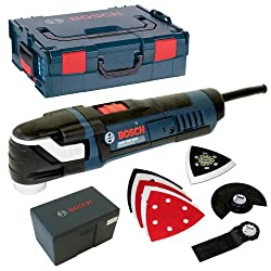 Outil multifonctions 300 W Bosch GOP 300 SCE Professional + accessoires + coffret Comparatif des meilleurs outils multifonctions