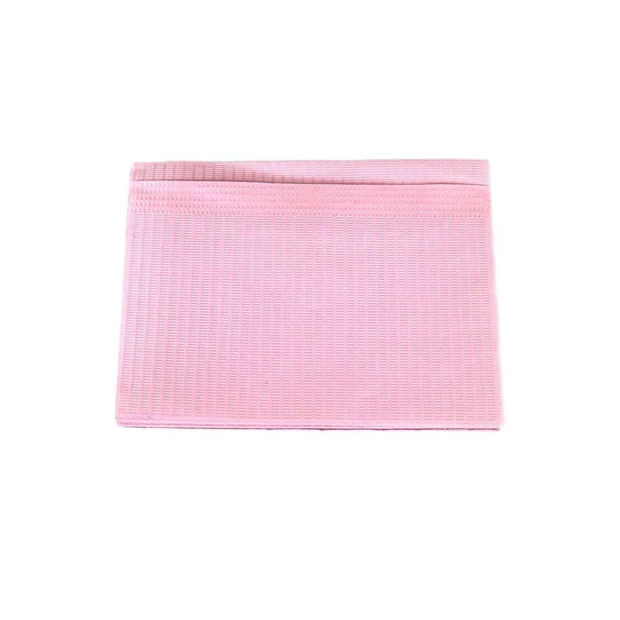 涙が出る安らぎ人間防水ネイルペーパー ピンク 10枚入り ネイルシート 防水ペーパー キッチンペーパー