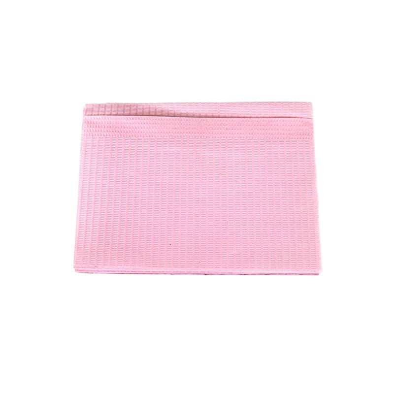 受益者専ら音楽防水ネイルペーパー ピンク 10枚入り ネイルシート 防水ペーパー キッチンペーパー