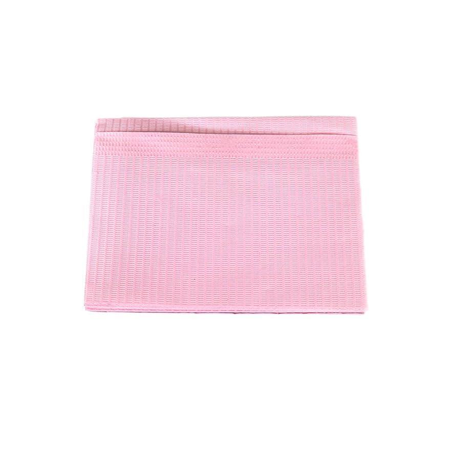 吐く無数の切断する防水ネイルペーパー ピンク 10枚入り ネイルシート 防水ペーパー キッチンペーパー
