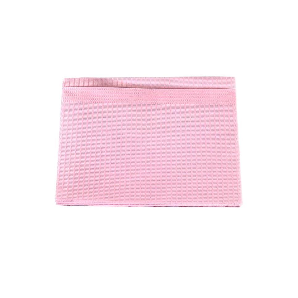 光沢一緒メロディー防水ネイルペーパー ピンク 10枚入り ネイルシート 防水ペーパー キッチンペーパー