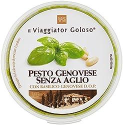il Viaggiator Goloso Pesto Genovese senz'Aglio, 130g