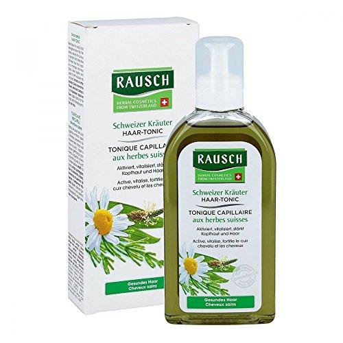 Rausch Schweizer Kräuter Haar-Tonic (erfrischt, beugt Schuppenbildung vor und mildert Juckreiz - Vegan), 1er Pack (1 x 200 ml)