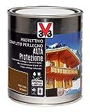 V33 Protettivo Completo Alta Protezione A Solvente Noce Scuro 0.75 l...
