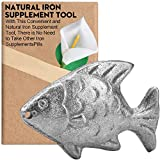 Natural Iron Supplement Tool for People With Anemia Caused by Iron Deficiency, The Original Iron Supplement, Simple Iron Added in Food/Water, Suitable for Vegetarians, Pregnant Women and Children