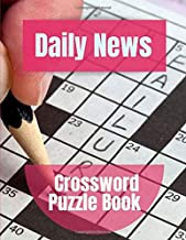 Daily News Crossword Puzzle Book: Crosswords Puzzle Solver, Puzzles to Challenge Your Brain, Reproducible Worksheets for Classroom Use Kids Activities Books