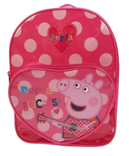 Peppa Pig Rocks - Mochila con bolsillo