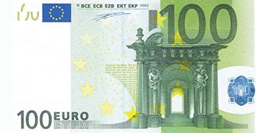 Litfax GmbH 100 € Euroschein / Euro-Geldscheine ca. 191x103 mm / banderoliert, je Pack. 75 Stück