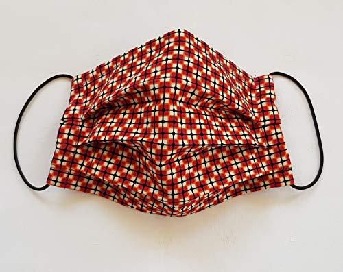 Mund Nasenmaske, Gesichtsmaske mit Nasenbügel, Stoffmaske, Handmade, waschbar, hergestellt in Bayern