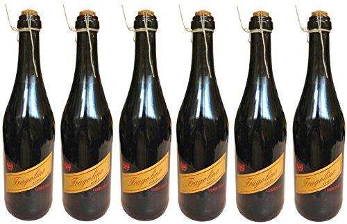 Fragolino Rosso Corte Viola - 6 x 0,75 L - Erdbeer-Perlwein - 10 % Vol. - Sparpack