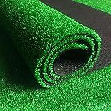 JX-PEP Césped Artificial, césped sintético Premium, fácil de Limpiar con Agujeros de Drenaje - Turfos Falsos para paisajes Interiores/Exteriores,2x5m