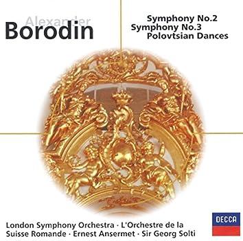 Borodin: Symphonies Nos.2 & 3; Overture & Polovtsian Dances (Prnce Igor)