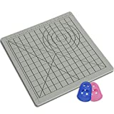 dikale 3D Pen Mat 16.4 x 10.9 Inches, Large 3D Printing Pen Silicone Design Mat with Patterns, 3D Pens Drawing Tools