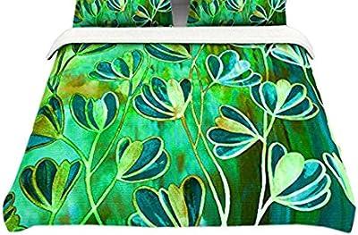 88 x 88, Kess InHouse Shirlei Patricia Muniz The Elephant Walk Featherweight Queen Duvet Cover