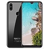 OUKITEL C15 Pro Smartphone Portable Débloqué Pas Cher, Écran 6,1 Pouces HD+ Goutte deau, 3Go RAM +32Go ROM, Android 9,0 Télephone Portable,Dual SIM 4G,Batterie 3200mAh,Dual Caméra 8+5MP,WiFi 5G -Noir