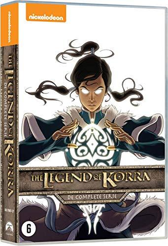 Die Legende von Korra Komplettbox 1-4 Import mit Deutscher Sprache