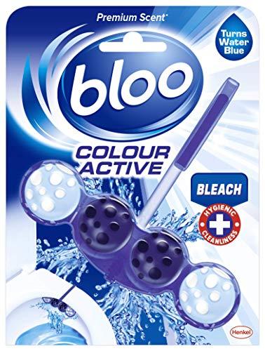 Bloo Colour Active Toilet Rim Block, Bleach, Bleach, 50 gram