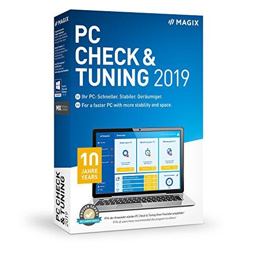 Preisvergleich Produktbild MAGIX PC Check & Tuning Version 2019 Macht Ihren PC: Schneller. Stabiler. Geräumiger. PC